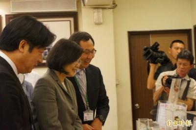 蔡英文訪台南 「看到在地企業的企圖心」 [自由時報報導]