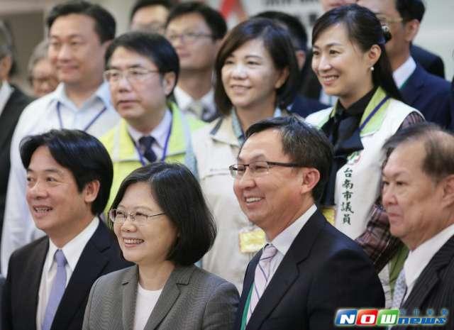 台南綠色能源 蔡英文感謝在地企業參與投資 [NOWnews 報導]