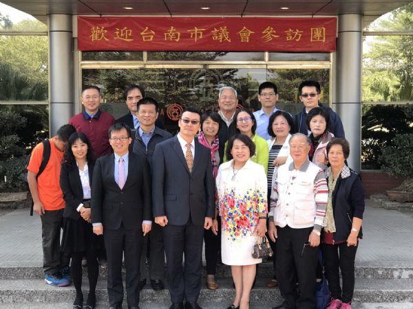 議長賴美惠率隊赴越南參訪[台南市議會議政新聞]