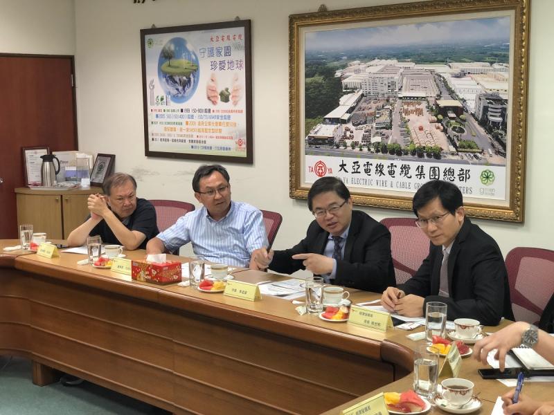 台南市府推動創新育成 大亞集團共襄盛舉