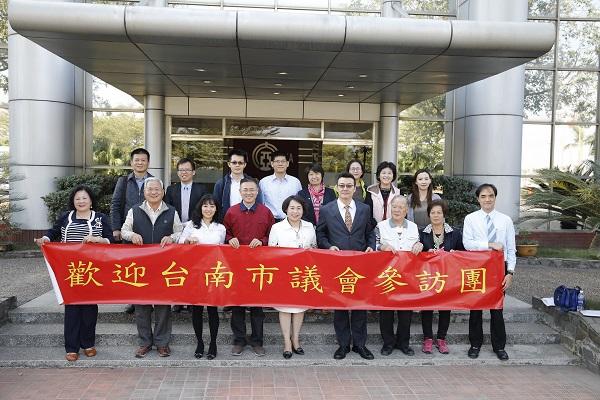 臺南市議會參訪團赴大亞海陽廠考察 共同推動新南向政策