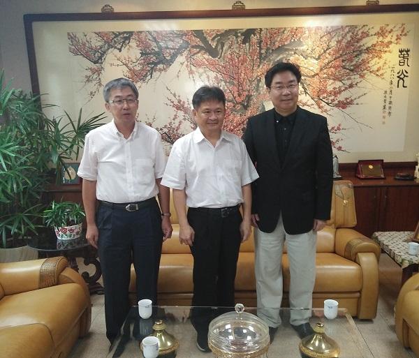 外贸协会来访大亚 共商促进台越交流
