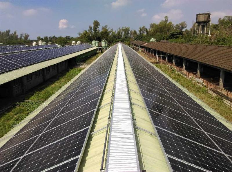 大亞集團再生能源電廠穩健發展 裝置容量突破10MW〔工商時報報導〕
