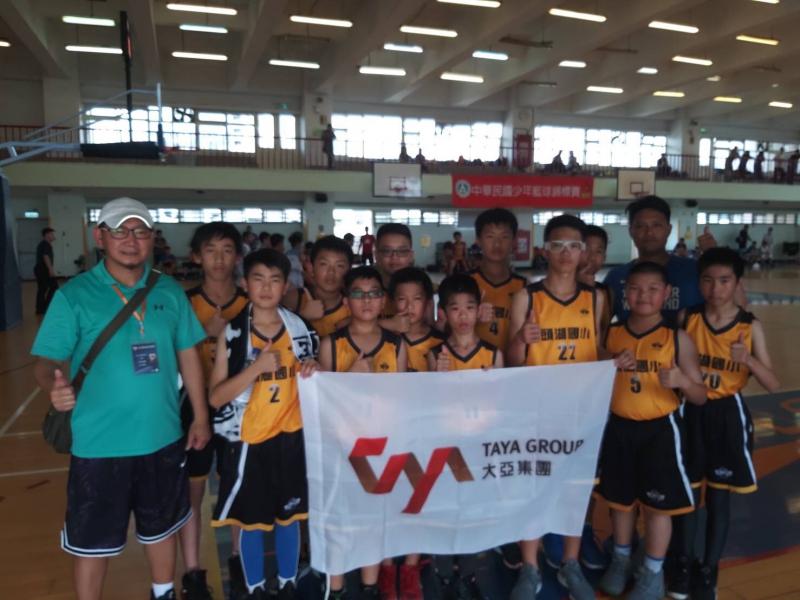 聯友機電が賛助する頭湖小学校バスケットボールチームが第51回全国大会に参加