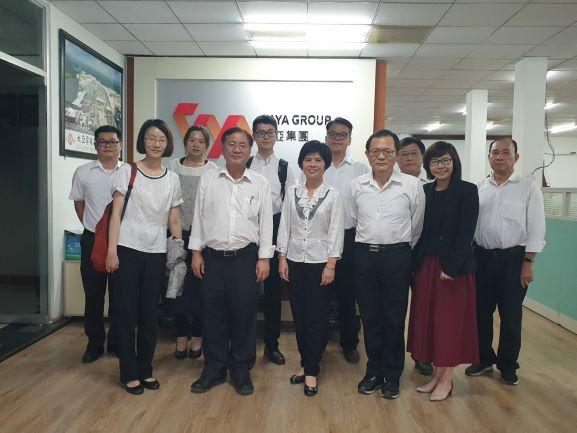 台湾証券取引所、大亜ベトナム・ドンナイ工場を訪問