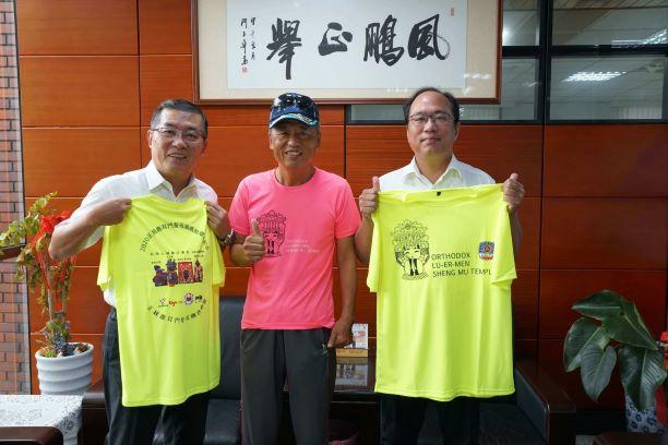 蔡明宜選手が大亜台南関廟本社を訪問
